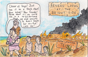 Aeneas Looks At The Bright Side