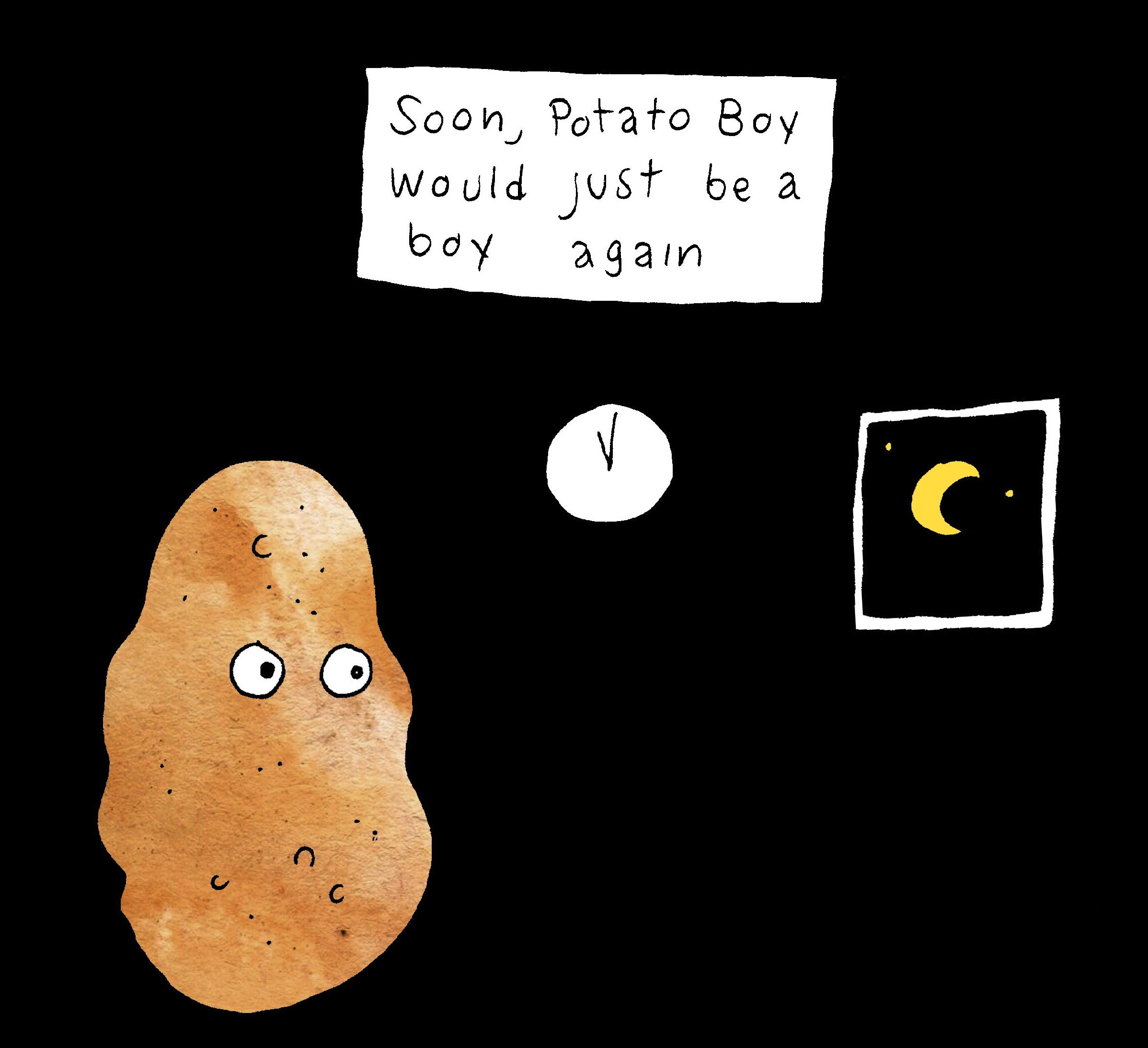 Potato Boy Wash Color