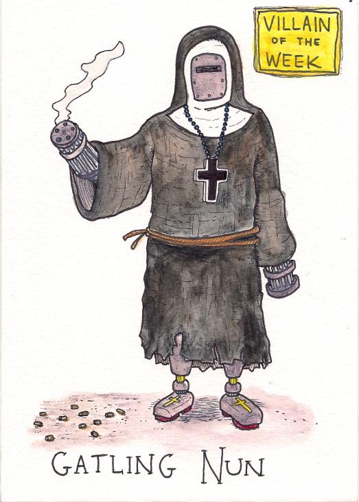 Gatling Nun