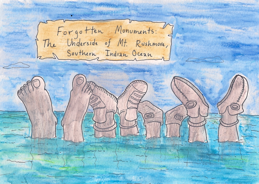 Interesting sidenote: Stonehenge is actually the feet of the Maoi statues on Easter Island