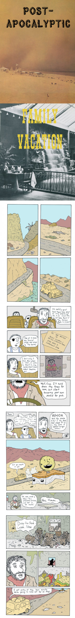 Post-Apocalyptic Family Vacation, 3