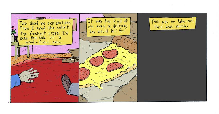 Pizza Noir