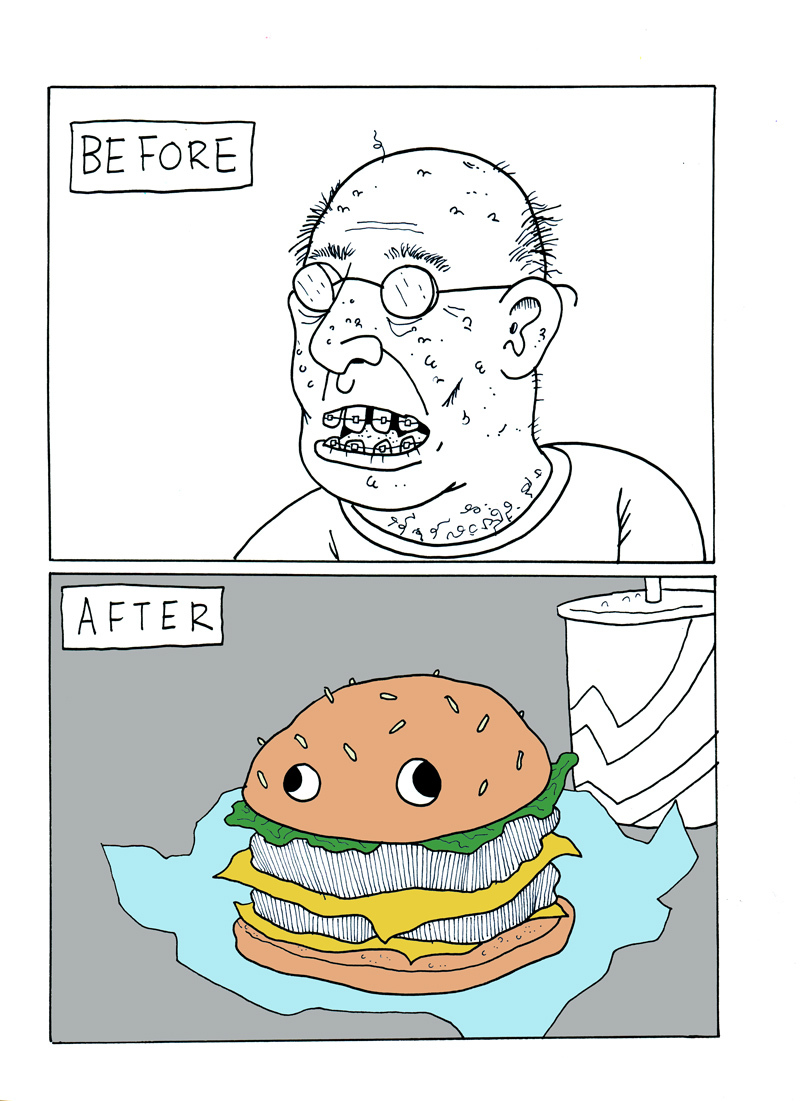 Before/After Burger
