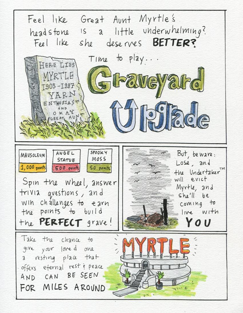 Graveyard Upgrade