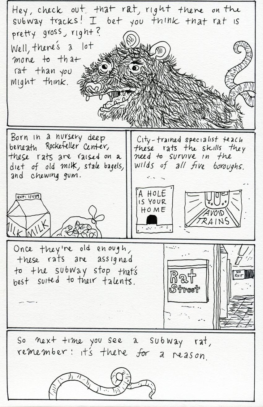 Subway Rat