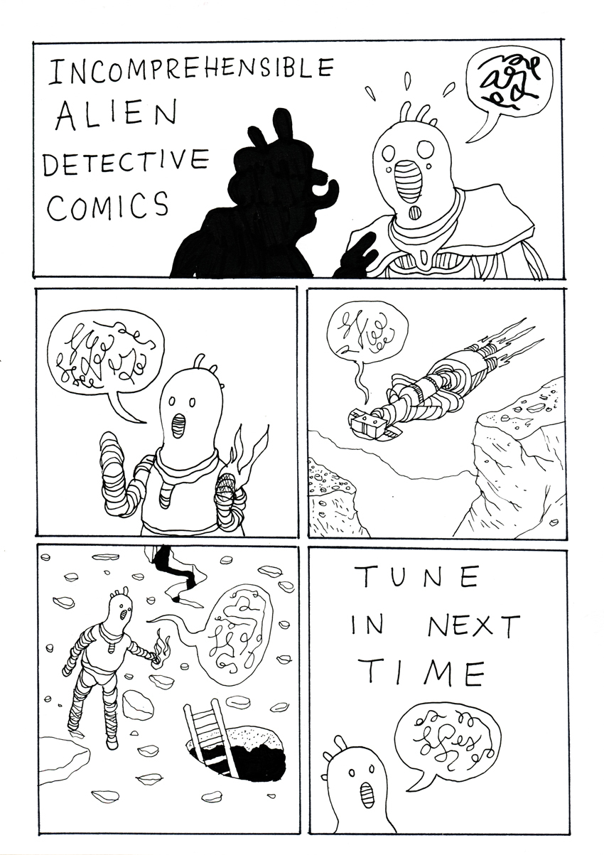 Alien Detective