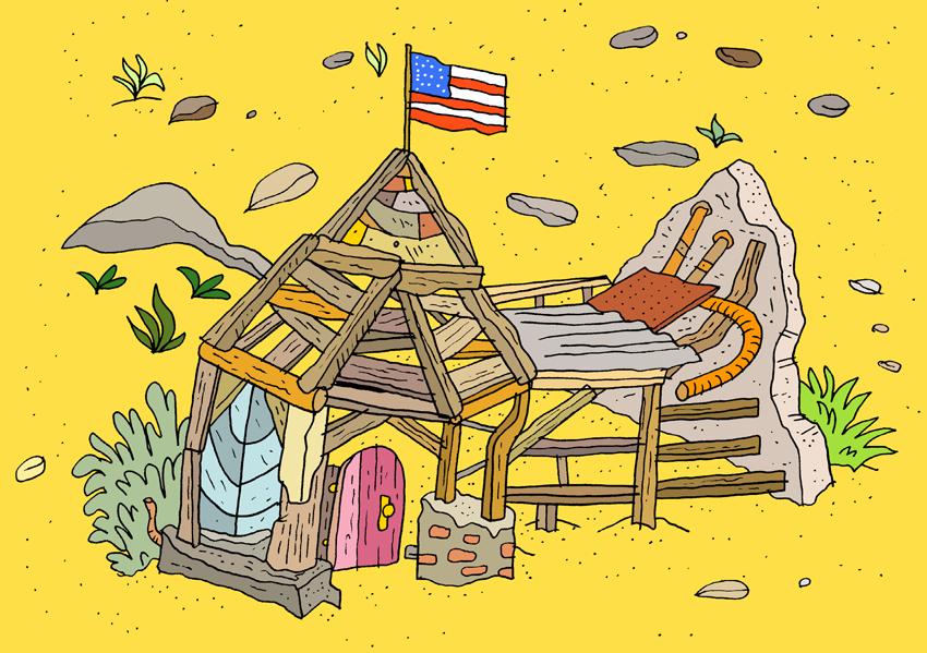 American Desert Home