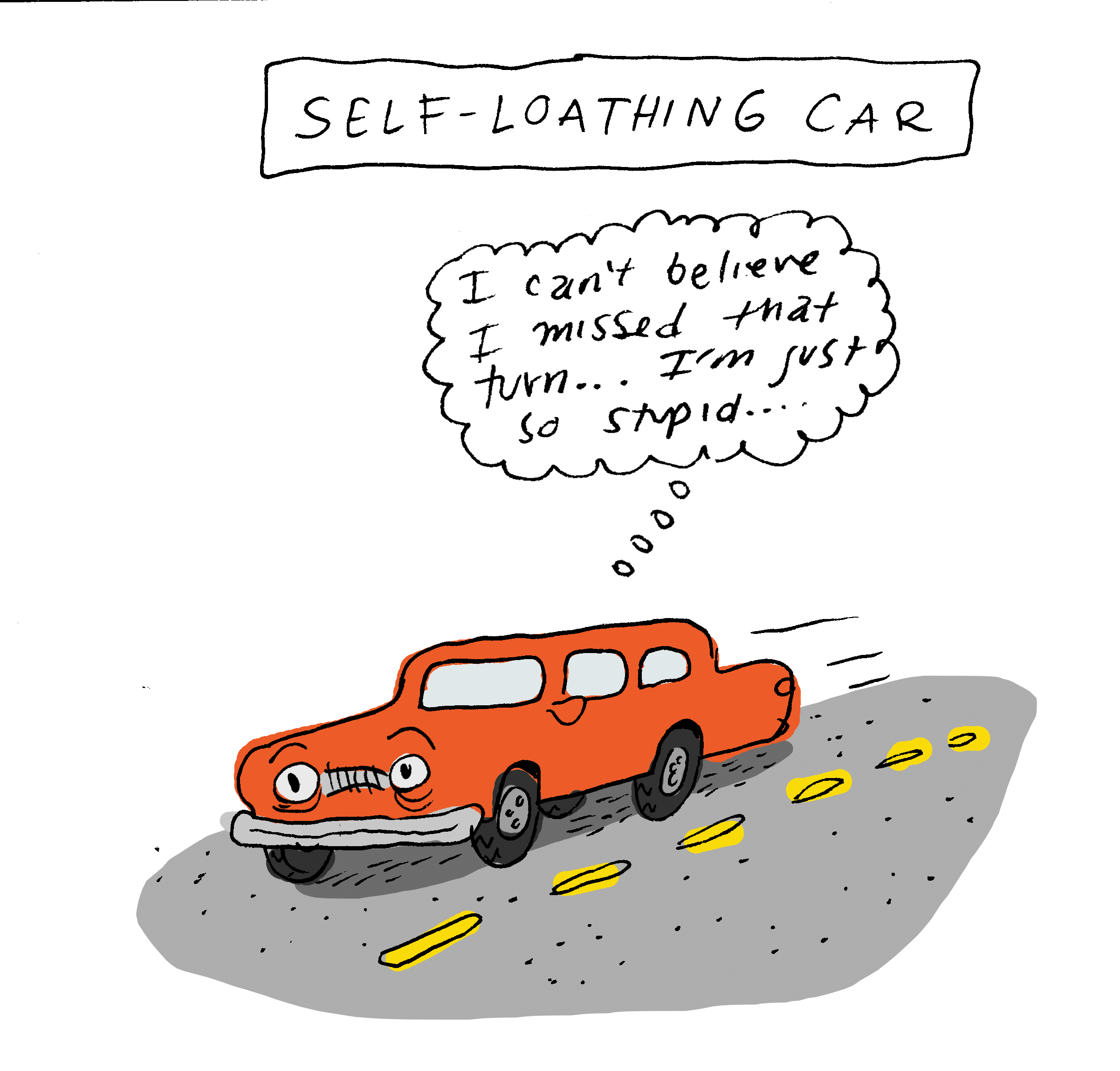Self Loathing Car